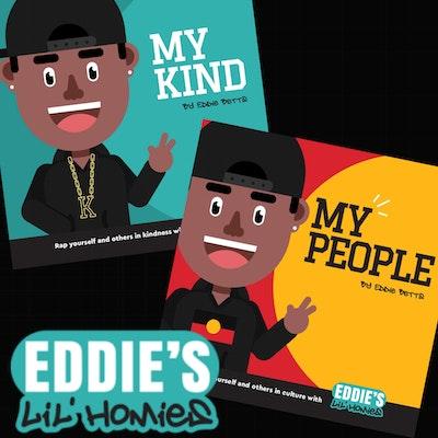 Clothing The Gaps       Eddie Betts' Lil' Homies Books