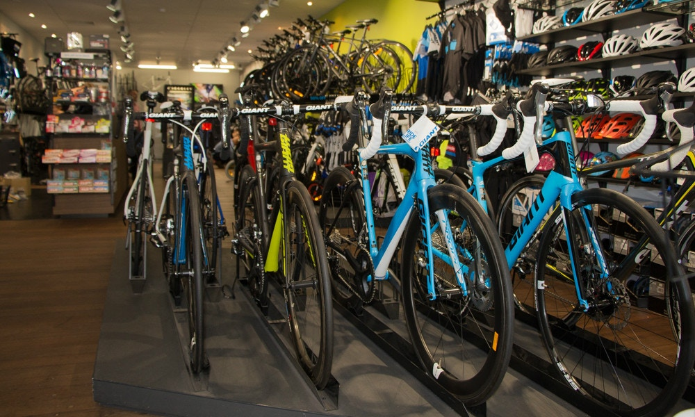 Australia's Hottest Bike Shops - Giant Perth