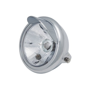 Flatcap Chrome Style Front Headlight