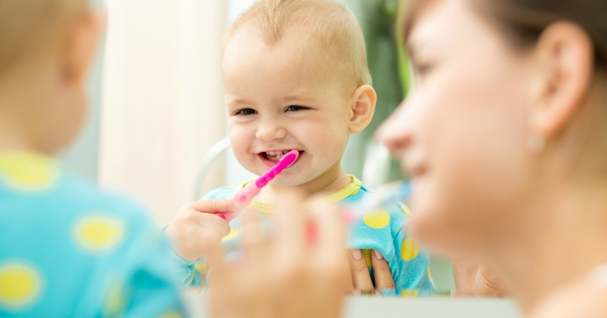 Tips for caring for young teeth