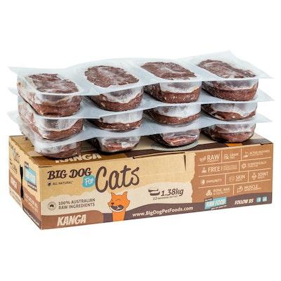 Big Dog Kangaroo Frozen Cat Food 1.38kg