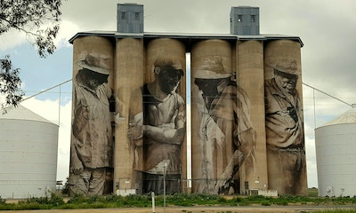 Brim Silo Artworks Tell the Tale of VIC's North-West