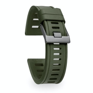 Isofrane Dive Watch Rubber Strap Nato Green