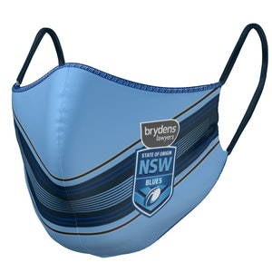 The Mask Life NSW State of Origin Face Mask