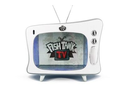 FISH TANK TV Grey/White 15 Litres
