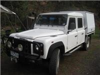 Landrover Defender. RACV Total Care was there when needed