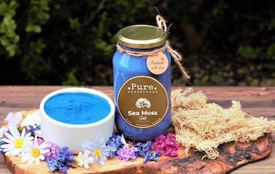Pure Superfoods Blue Spirulina Sea Moss Gel