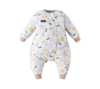 Domiamia  Long Sleeve Sleepsuit with Stretchy Side Panel- 1.0 Tog