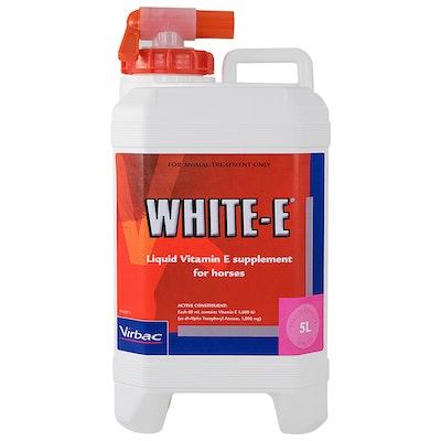 Virbac White E Liquid Vitamin E Supplement for Horses - 2 Sizes