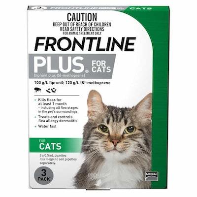 Frontline Plus  Flea Treatment for Cats