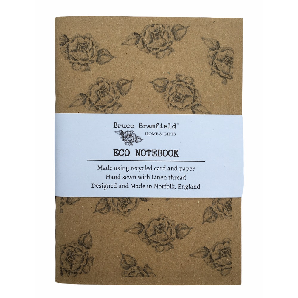 Bruce Bramfield Roses Eco Notebook