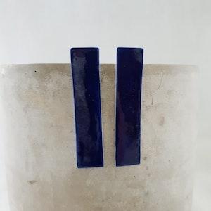 electric blue | long column | studs