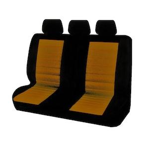 Universal Ice Mesh Rear Seat Covers Size 06/08Z | Orange