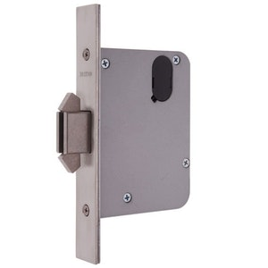 Lockwood 3573 Mortice Primary Lock for Sliding Doors with 60mm Backset Finished in Satin Chrome