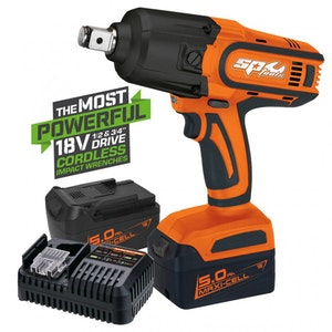 """SP81130 Cordless Impact Wrench 18V 5.0Ah 1/2"""" Dr SP81130"""