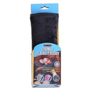 Seat Belt Buddy Comforters | Black