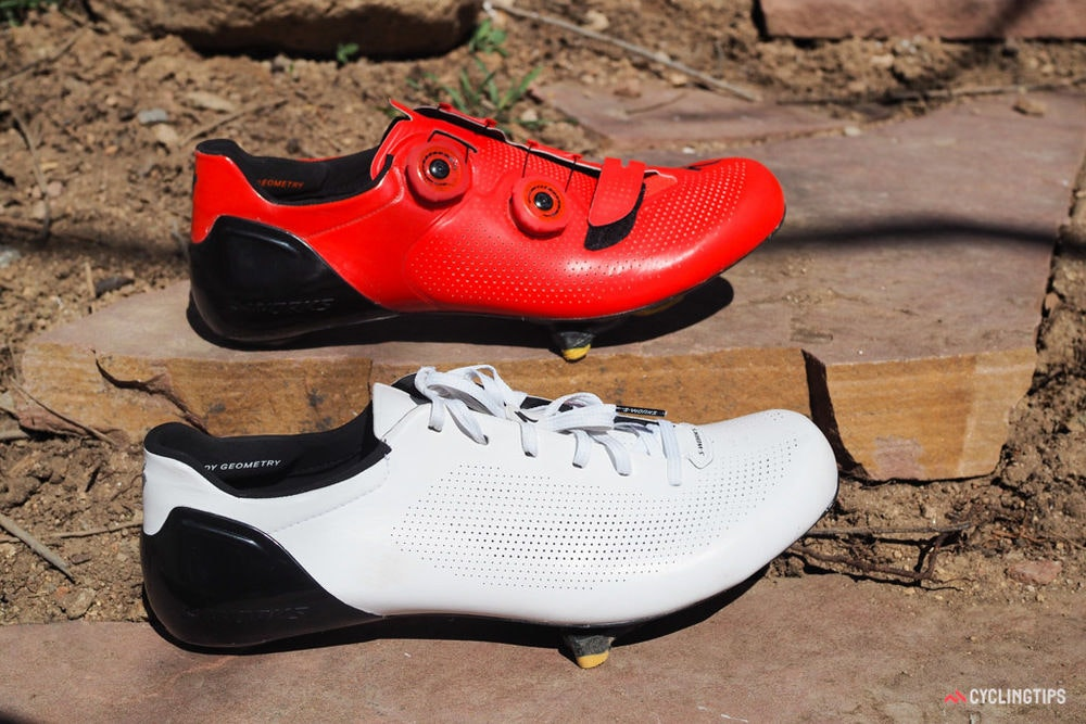 fullpage Specialized S Works Sub6 shoes 21 side by side