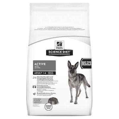 Hills Science Diet Adult Active Dry Dog Food 22.6kg