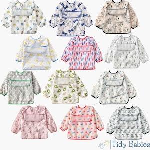 Tidy Babies  Baby & Toddler Apron Smock Bib