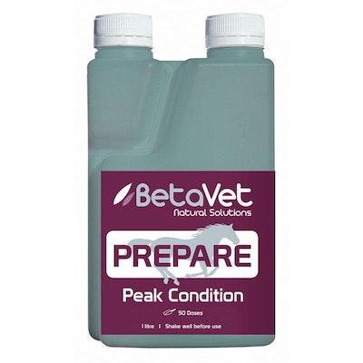 BETAVET Natural Solutions Horse Prepare Peak Condition Supplement - 6 Sizes