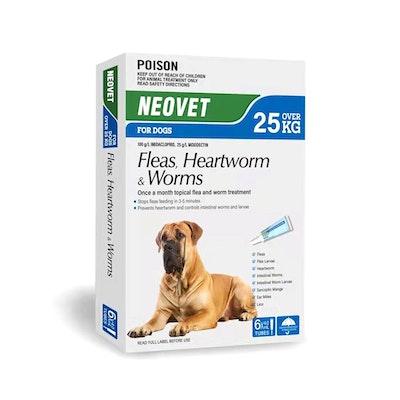 NEOVET For Dogs Over 25KG 6Tubes x 4Ml