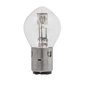 BA20D 6V 25/25W Standard Clear Bulb