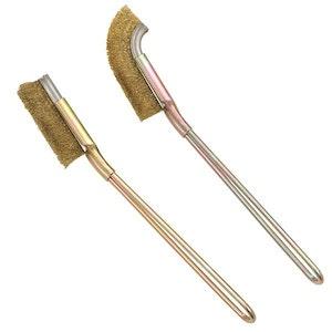 Brass Bristles Cleaning Brush Set 2 Pc