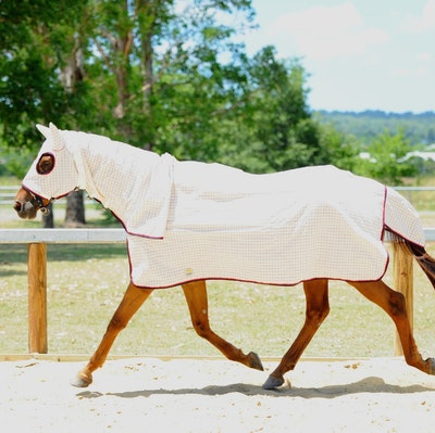 Capriole Equestrian Titan Ripstop Cotton Hood Combo