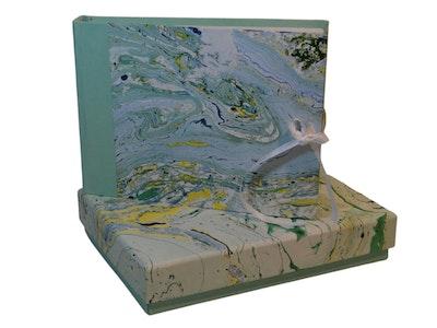 GETScrapping Luxury Handmade DIY Scrapbook Photo Album - Mint Green