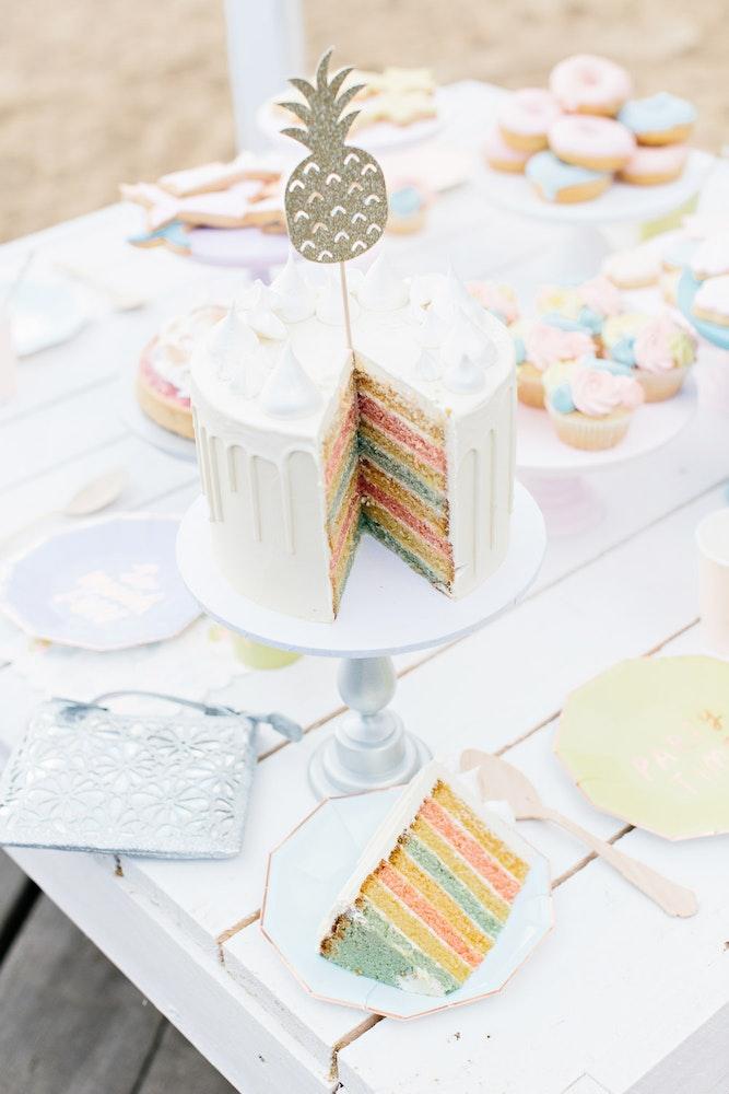 LENZO Betts Kids Summer Cake Party
