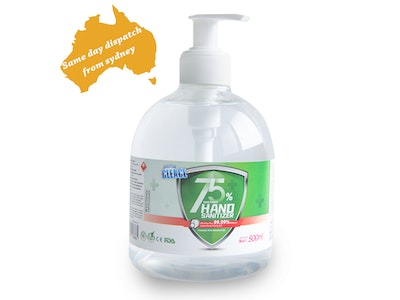 WH Safe Cleace 75% Alcohol Hand Sanitiser - FDA Certified