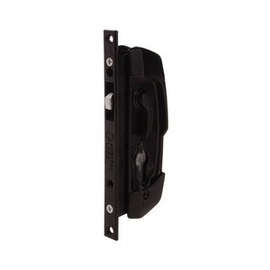 Austral Lock SD7 Sliding Security Door Deadlock-Less Cylinder Black - ALSD7BLK