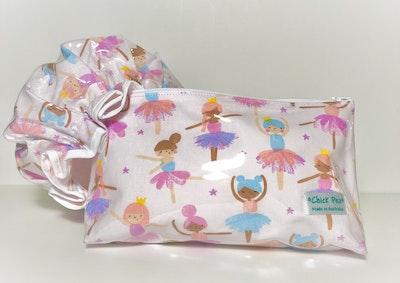 Toiletries Bag & Shower Cap - Ballet