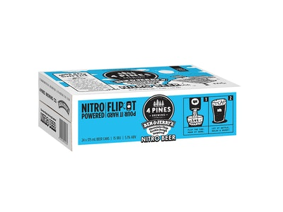 4 Pines Ben & Jerry's Nitro Choc Cookie Dough Inspired Can 375mL Case