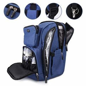 LaTASCHE Iconic Backpack - Blue Denim