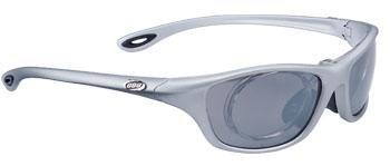 Powerview 2 Sport Glasses - Matte Silver/Smoke  - BSG-19.1909