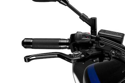 Puig Brake Levers 3.0 (Unfoldable, Black Lever, Silver Adjuster)