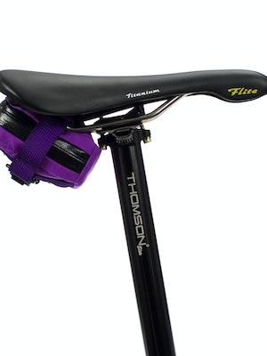 skingrowsback Plan B Micron Saddle Bag Purple