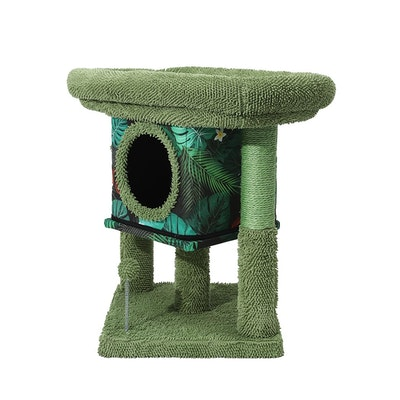 House of Pets Delight Tropical Cat Condo Scratcher