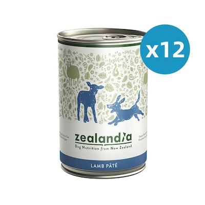 ZEALANDIA Lamb Pate Dog Wet Food 385g x 12