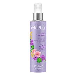 Yardley London April Violets 200ml Moisturising Women Fragrance Body Mist