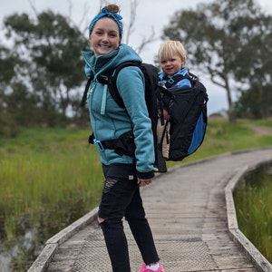 Jumply [NEW] Adventure Baby Carrier | Combining a Baby Carrier with a Nappy Bag