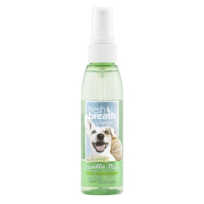 Tropiclean Fresh Breath Vanilla Mint Oral Spray 118ml