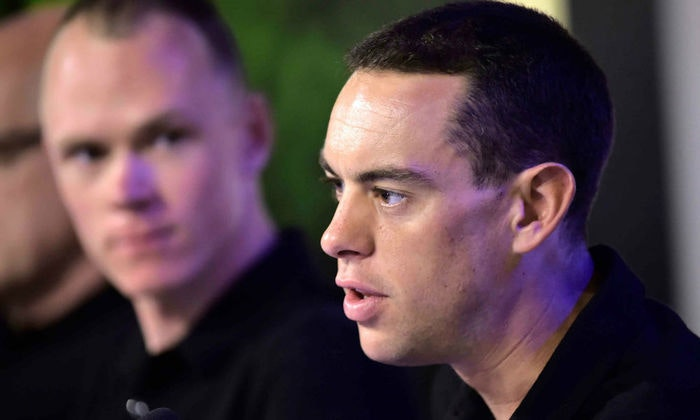 display Richie Porte Hero TdF Press Conference