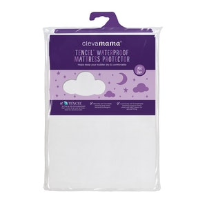 ClevaMama Tencel® Crib Waterproof Mattress Protector 90 x 40 x 20 cm