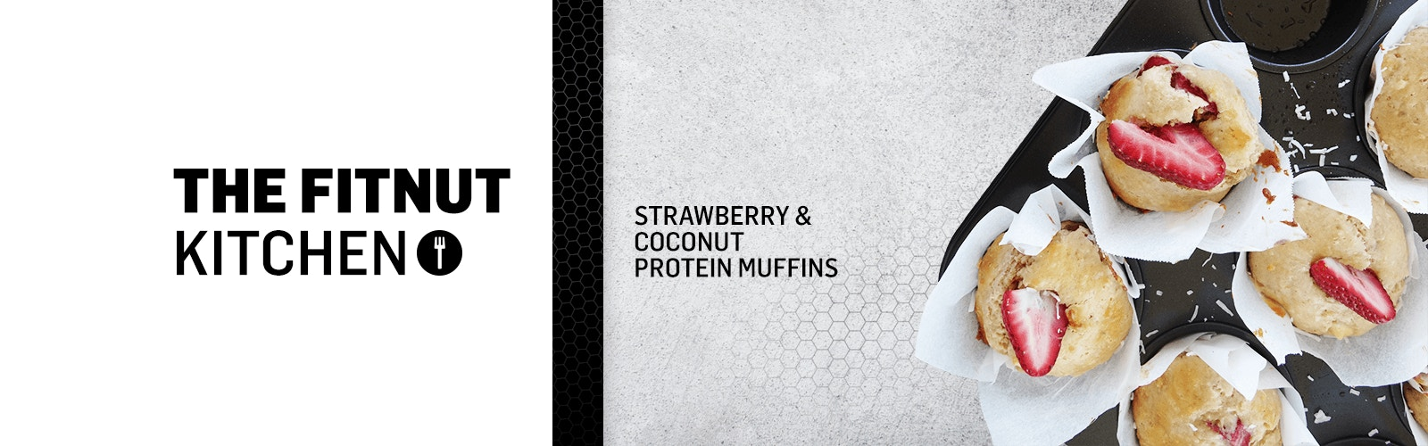 THE FITNUT KITCHEN – PROTEIN MUFFINS
