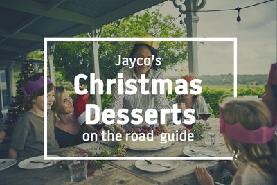 Christmas desserts on the road
