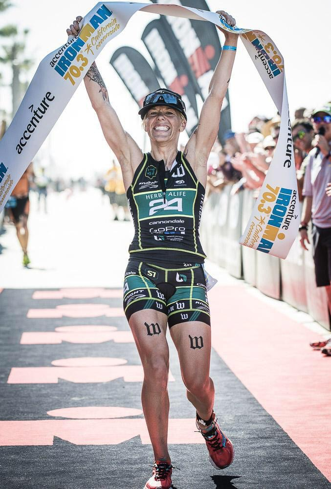 Jackson wins her first IRONMAN