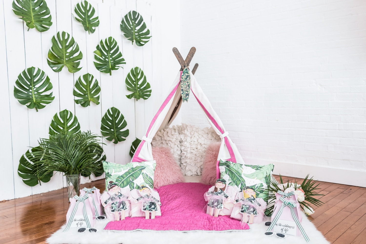 Troop Beverly Hills Glamping Party