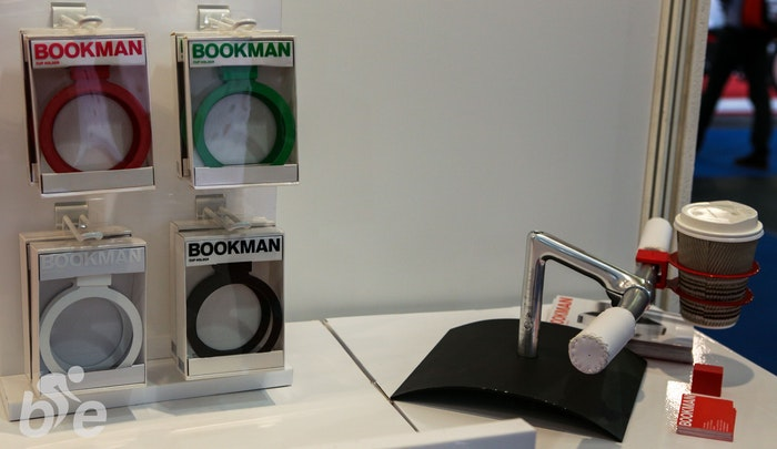 Bookman Coffee Holder